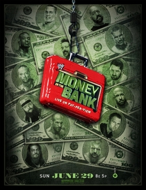 WWE Money In The Bank - (2014) - Poster / Capa / Cartaz - Oficial 1