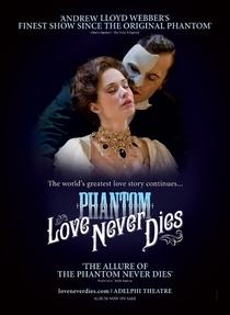 Love Never Dies - Poster / Capa / Cartaz - Oficial 2