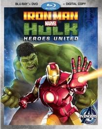 Homem de Ferro e Hulk: Super-Heróis Unidos - Poster / Capa / Cartaz - Oficial 1