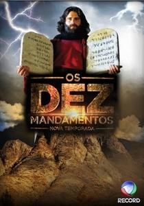 Os Dez Mandamentos - Nova Temporada - Poster / Capa / Cartaz - Oficial 1