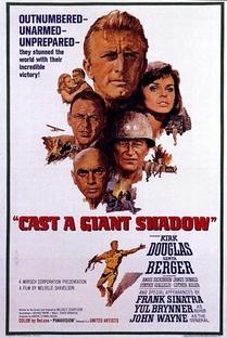 À Sombra de um Gigante - Poster / Capa / Cartaz - Oficial 1