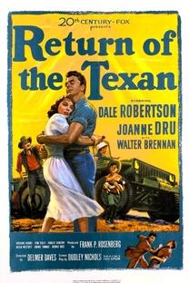 Return Of The Texan - Poster / Capa / Cartaz - Oficial 1