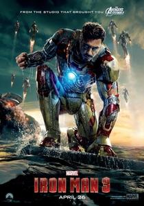 Homem de Ferro 3 - Poster / Capa / Cartaz - Oficial 1