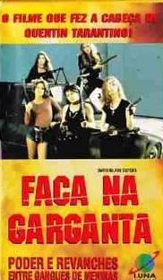 Faca na Garganta - Poster / Capa / Cartaz - Oficial 3