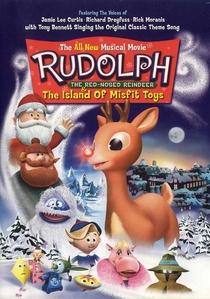 Rudolph, A Rena do Nariz Vermelho - Na Ilha dos Brinquedos Roubados - Poster / Capa / Cartaz - Oficial 1