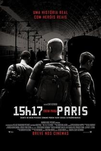 15h17 - Trem Para Paris - Poster / Capa / Cartaz - Oficial 2