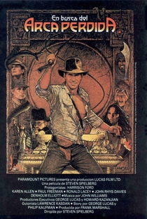 Indiana Jones e os Caçadores da Arca Perdida - Poster / Capa / Cartaz - Oficial 5