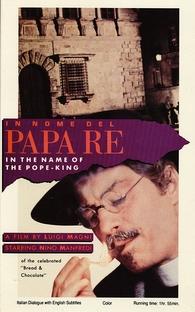 Em Nome do Papa Rei - Poster / Capa / Cartaz - Oficial 1