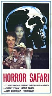 Horror Safari - Poster / Capa / Cartaz - Oficial 1