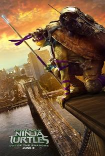 As Tartarugas Ninja: Fora das Sombras - Poster / Capa / Cartaz - Oficial 3