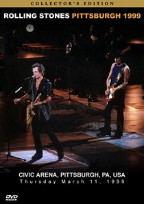 Rolling Stones - Pittsburgh 1999 - Poster / Capa / Cartaz - Oficial 1