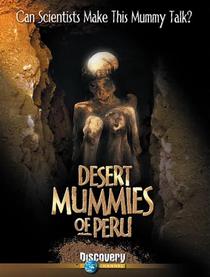 As Múmias do Deserto Peruano - Poster / Capa / Cartaz - Oficial 1