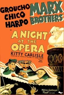 Uma Noite na Ópera - Poster / Capa / Cartaz - Oficial 1