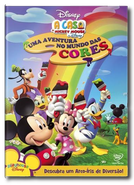 A Casa do Mickey Mouse: Uma Aventura no Mundo das Cores