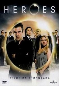 Heroes (3ª Temporada) - Poster / Capa / Cartaz - Oficial 2