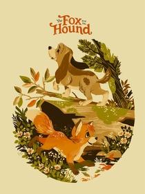 O Cão e a Raposa - Poster / Capa / Cartaz - Oficial 1