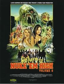 Return to Nuke 'Em High Aka Vol 2 - Poster / Capa / Cartaz - Oficial 1
