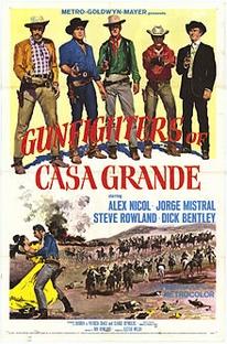 Os Pistoleiros de Casa Grande - Poster / Capa / Cartaz - Oficial 2