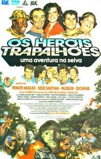 Os Heróis Trapalhões - Uma Aventura na Selva - Poster / Capa / Cartaz - Oficial 1