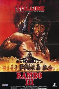Rambo III - Poster / Capa / Cartaz - Oficial 3