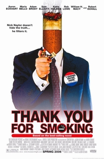 Obrigado por Fumar - Poster / Capa / Cartaz - Oficial 3