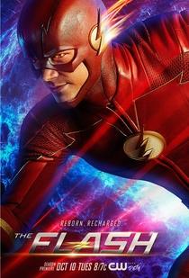 The Flash (4ª Temporada) - Poster / Capa / Cartaz - Oficial 1