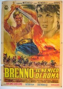 Brenno, O Inimigo de Roma - Poster / Capa / Cartaz - Oficial 1