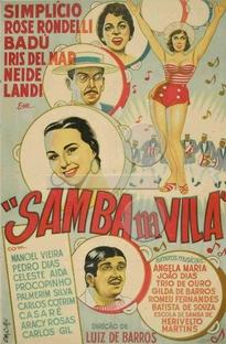 Samba na Vila - Poster / Capa / Cartaz - Oficial 1