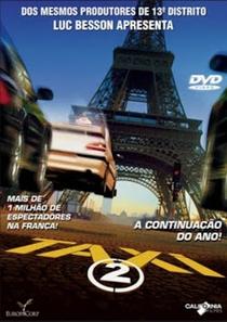 Táxi 2 - Poster / Capa / Cartaz - Oficial 1