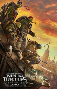 As Tartarugas Ninja: Fora das Sombras - Poster / Capa / Cartaz - Oficial 2