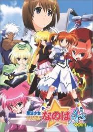 Magical Girl Lyrical Nanoha A's - Poster / Capa / Cartaz - Oficial 1