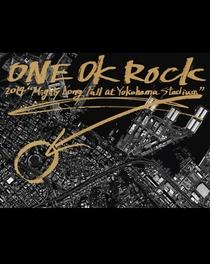 "ONE OK ROCK 2014 ""Mighty Long Fall at Yokohama Stadium"" - Poster / Capa / Cartaz - Oficial 1"