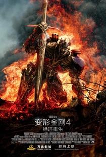 Transformers: A Era da Extinção - Poster / Capa / Cartaz - Oficial 8