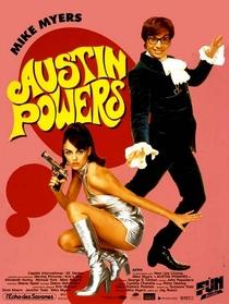 Austin Powers - 000 Um Agente Nada Discreto - Poster / Capa / Cartaz - Oficial 1