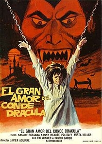 O grande amor do Conde Drácula - Poster / Capa / Cartaz - Oficial 1