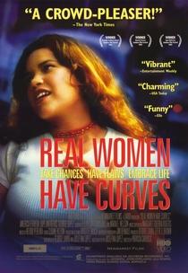 Mulheres de Verdade Têm Curvas - Poster / Capa / Cartaz - Oficial 1