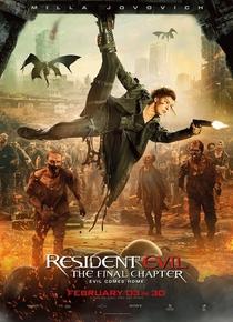 Resident Evil 6 - O Capítulo Final - Poster / Capa / Cartaz - Oficial 8