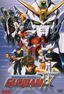 Mobile Suit Gundam Wing - Poster / Capa / Cartaz - Oficial 1