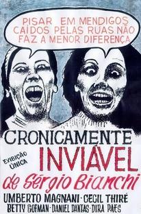 Cronicamente Inviável - Poster / Capa / Cartaz - Oficial 1