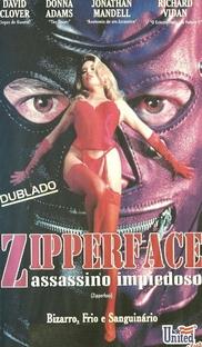 Zipper Face - Assassino Impiedoso - Poster / Capa / Cartaz - Oficial 2