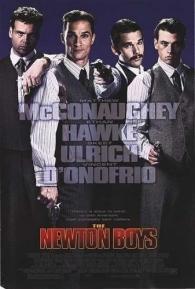 Newton Boys - Irmãos Fora-da-Lei - Poster / Capa / Cartaz - Oficial 1