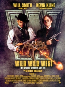 As Loucas Aventuras de James West - Poster / Capa / Cartaz - Oficial 1