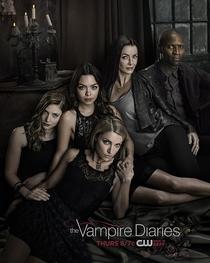 The Vampire Diaries (8ª Temporada) - Poster / Capa / Cartaz - Oficial 2