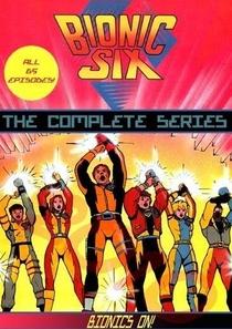 Os 6 Biônicos (1ª Temporada) - Poster / Capa / Cartaz - Oficial 1