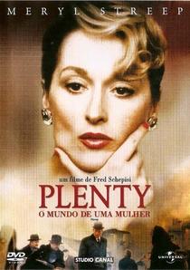 Plenty - O Mundo de Uma Mulher - Poster / Capa / Cartaz - Oficial 6
