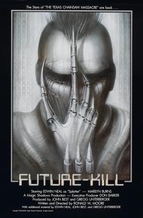 A Violência do Futuro - Poster / Capa / Cartaz - Oficial 1