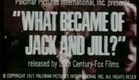 What Became Of Jack And Jill? (1972) Trailer