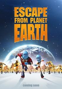 A Fuga do Planeta Terra - Poster / Capa / Cartaz - Oficial 1