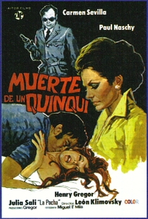Muerte de un Quinqui  - Poster / Capa / Cartaz - Oficial 1