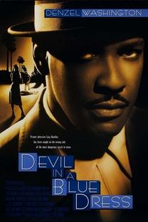 O Diabo Veste Azul - Poster / Capa / Cartaz - Oficial 1